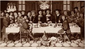 Maaltijd van de Heren van Liere te Antwerpen