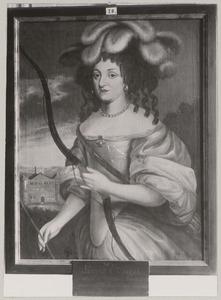 Portret van Louise Elisabeth van Kurland (1646-1690)