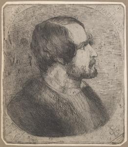 Portret van Alexander Schaepkens (1815-1899)