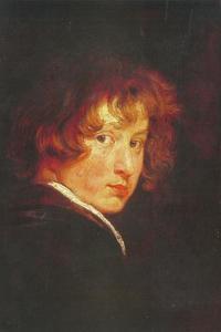Zelfportret op circa 14-jarige leeftijd