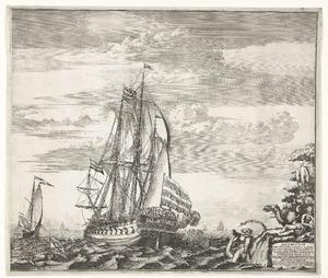 Het oorlogschip 'De Biddende Petrus'