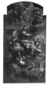 De apotheose van de H. Maria Magdalena