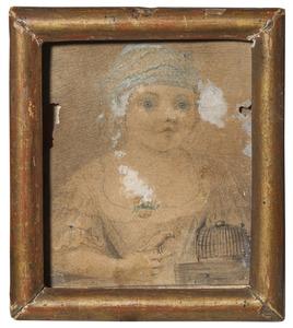 Portret van Theresa Maria van Geisteren (1763–1766)