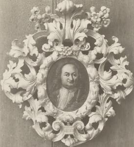 Portret van Francois van Hoogstraten ( -1760)