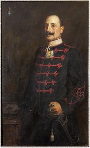 Portret van Edouard Willem van der Capellen (1863-1935)