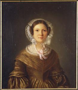Portret van Christina van Eeden (1812-1871)