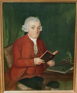 Portret van Johan Hendrik van der Does (1727-1781)