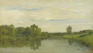 De l' Oise bij Auvers, 1874