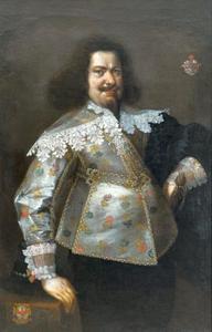 Portret van Nikolaus Konstantin (?) Giese
