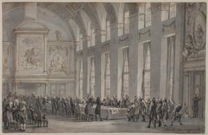 De Akte van Garantie aangeboden aan stadhouder Willem V, 1788