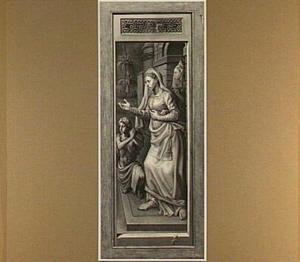 Christus bij Maria en Martha (rechterluik)
