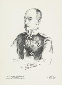 Portret van Hugo Charles Gustav van Lawick (1882-1965)