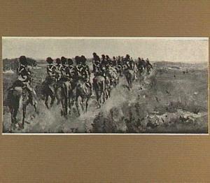 Cavalerie op de heide