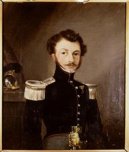Portret van Adam Emanuel Carolus de Sturler de Frienisberg ( -1890)