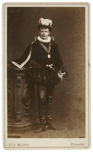 Portret van Frederik van de Poll (1860-1937) als Marnix van St. Aldegonde