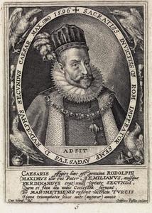 Portret van Rudolf II van Habsburg (1552-1612) keizer van het Heilige Roomse Rijk