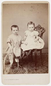 Portret van Dirk Jacob Wolfson (1864-1932) en David Leonardus Wolfson (1866-1928)