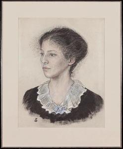 Portret van Caroline Adrienne Wertheim (1896-1945)
