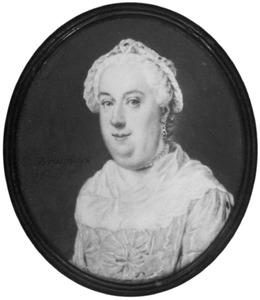Portret van Susanna Maria Houtuyn (1720-1760)