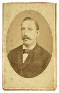 Portret van Alexander Decimus van Heeckeren van Brandsenburg (1840-1912)