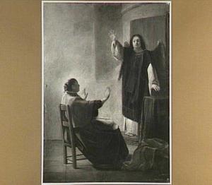 De engel verschijnt aan Anna (Het evangelie van Maria 3:1-2)