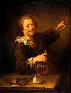 Zelfportret als drinker