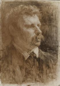 Portret van Johannes Albert Neuhuys (1844-1914)