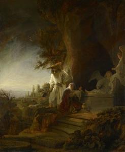 Christus verschijnt als hovenier aan Maria Magdalena (Johannes 20:11-17)