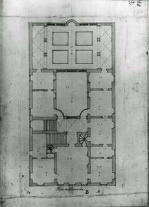 Palazzo Podestà: Plan van de hoofdverdieping