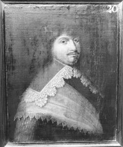 Portret van Wigbok van der Does, kapitein in het Noord-Hollands regiment