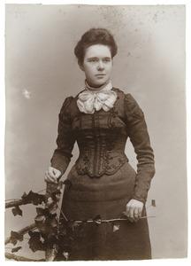 Portret van Francina Adriana Hubertina Bowier (1878-1934)