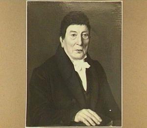 Portret van burgemeester Beckers