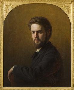 Portret van  Abraham Frans Gips (1861-1943)