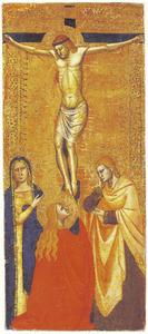Kruisiging met Maria, Johannes en Maria Magdalena