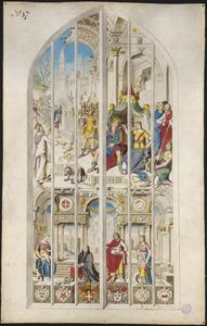 Johannes bestraft Herodes (naar raam/carton 17)