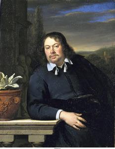 Portret van Florentius Schuyl (1619-1669)