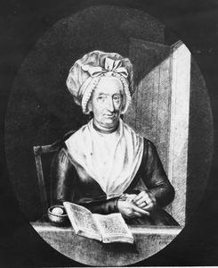 Portret van Sandrina Gerarda van Poolsum (....-1799)