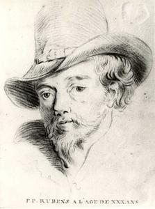 Studie van Peter Paul Rubens (1577-1640)
