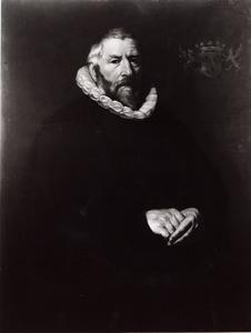 Portret van een man uit het geslacht Van Soesdijk, waarschijnlijk Steven Jansz. van Soesdijk (ca. 1560-1646)