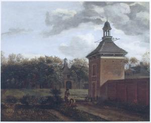 Een tuinpaviljoen van Huis Goudestein aan de Vecht (bij Maarssen)