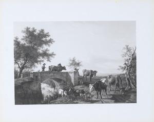 Landschap met koeherder