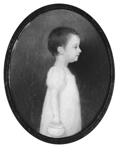 Portret van Sophia Willemina van Heeckeren (1807-1895)