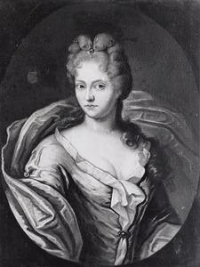 Portret van Adelheit van Polman (1689-1714)