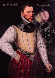 Portret van Hendrik II van Brederode (1531-1568)