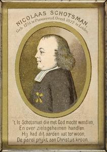 Portret van Nicolaas Schotsman (1754-1822)