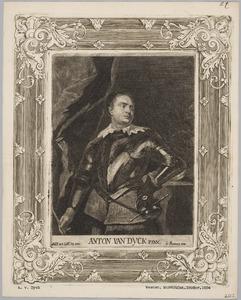 Portret van een jonge Italiaanse veldheer in een rijk versierd harnas