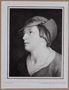 Portretje van een onbekende jongeman
