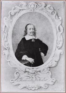 Portret van Mathias Bode (1612-1670)