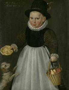Portret van een tweejarige jongen