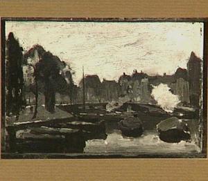 De Kromme Waal met de brug, Amsterdam